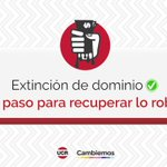 #LeyDeExtincionDeDominio Twitter Photo