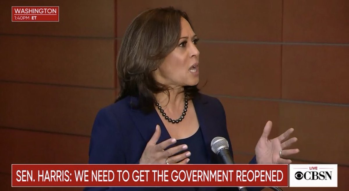 #Now @KamalaHarris speaks about platform for #2020election ~ live on @CBSNews