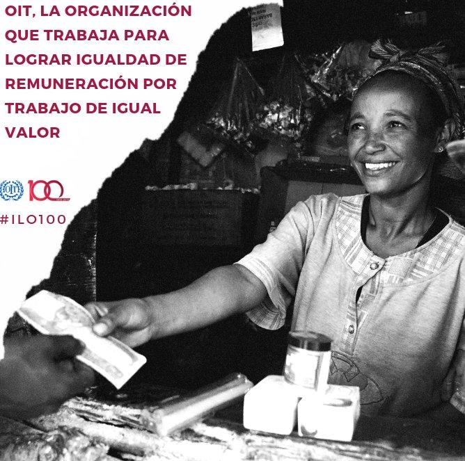 Por más de 100 años, la OIT (@OITnoticias) ha venido luchando para que las mujeres y los hombres de todo el mundo tengan derecho a un empleo digno, a ser respetados y a trabajar con libertad: https://t.co/3MMmKeclIW