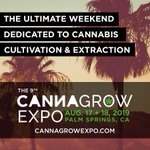 Image for the Tweet beginning: The 9th #CannaGrowExpo is a