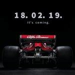 Frame the date. The future revealed.  #AlfaRomeoSauberF1Team #GetCloser