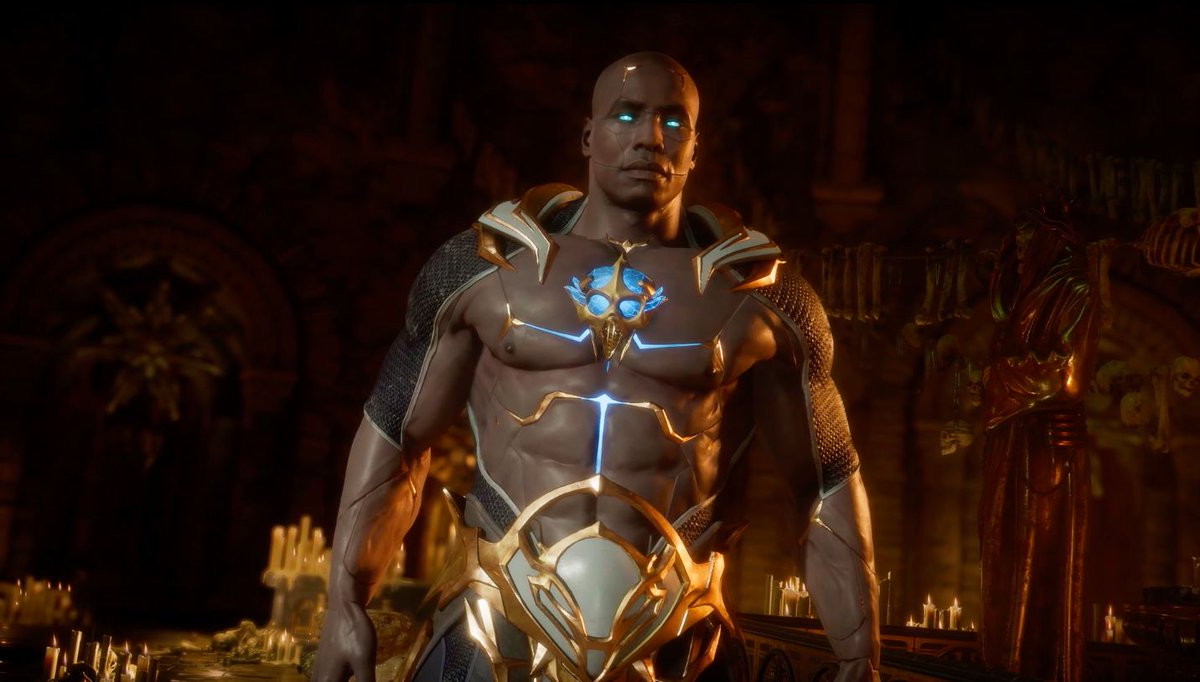 Mortal Kombat 11's time-cheating character, Geras, is the game's coolest new addition https://t.co/iaK7iUKt3O