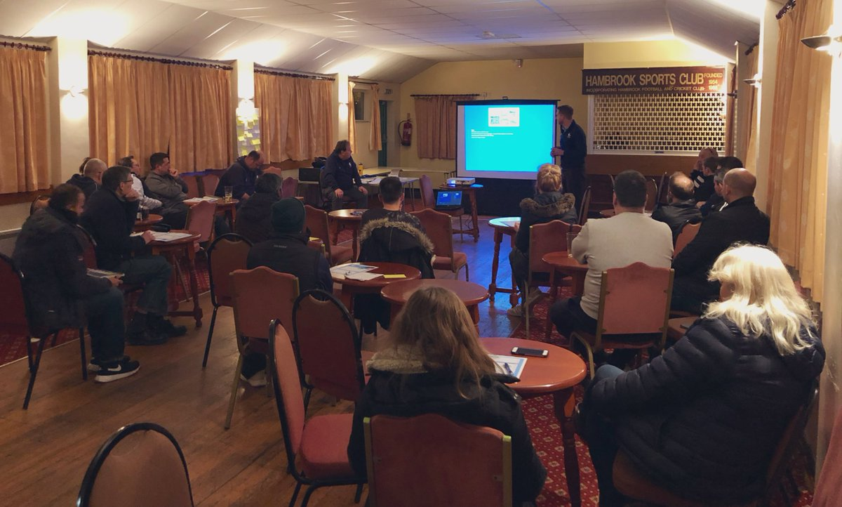 test Twitter Media - Our U9 Club Roadshow @HambrookCC is underway! Plenty of clubs here tonight to learn how they can start U9's cricket - both boys & girls! #excitingtimes #growingthegame https://t.co/7Zswv2Tjje