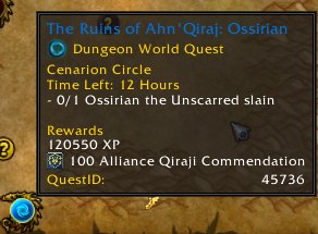 better questing quest id