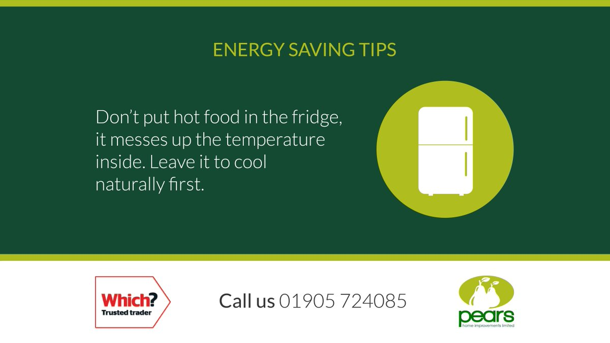 Here is this week's 'Energy Saving Tip' which we hope you'll find useful.  If you need any help with making your home more energy efficient please give us a call.  #WorcestershireHour