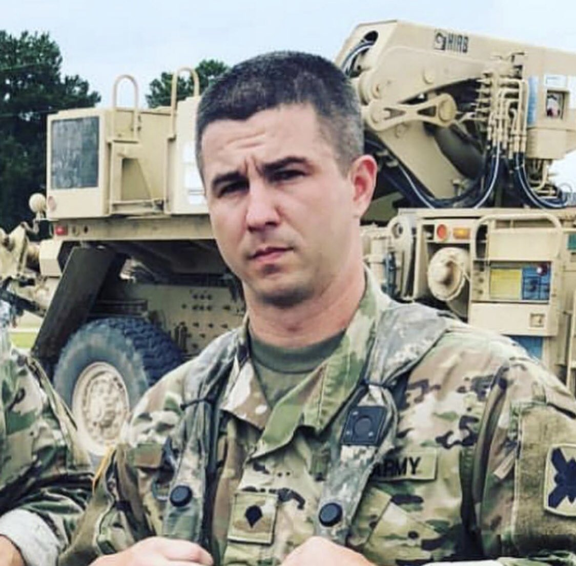 One of our own, Spc. Sean Tuder of the 1-173 IN BN, was killed Sunday in the course of his duty as a Mobile policeman. Our deepest sympathies, support, & prayers go to his family & brothers in arms. We are thankful for his service & hope to honor his legacy. #WeHaveTheWatch <br>http://pic.twitter.com/kWXF6uOCud