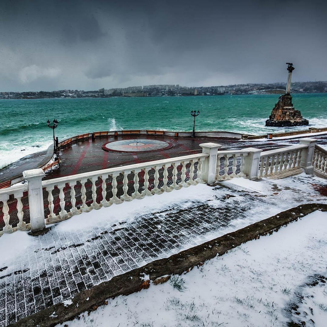 Севастополь зимой фото