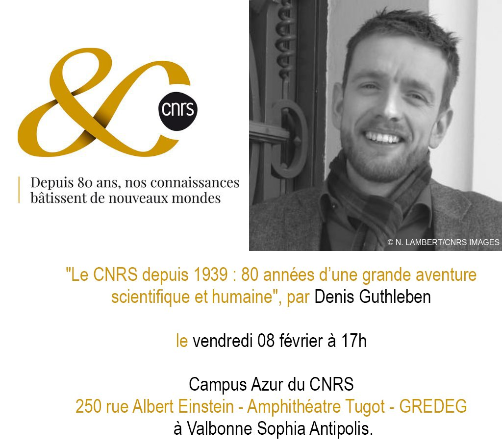 ... le 08 02 à 17h Amphi Gredeg - CNRS Campus Azur à  SophiaAntipolis  Inscription obligatoire gratuite   https   bit.ly 2FIk7A6  pic.twitter.com fAoeZwnBEw 71cdef6e565d