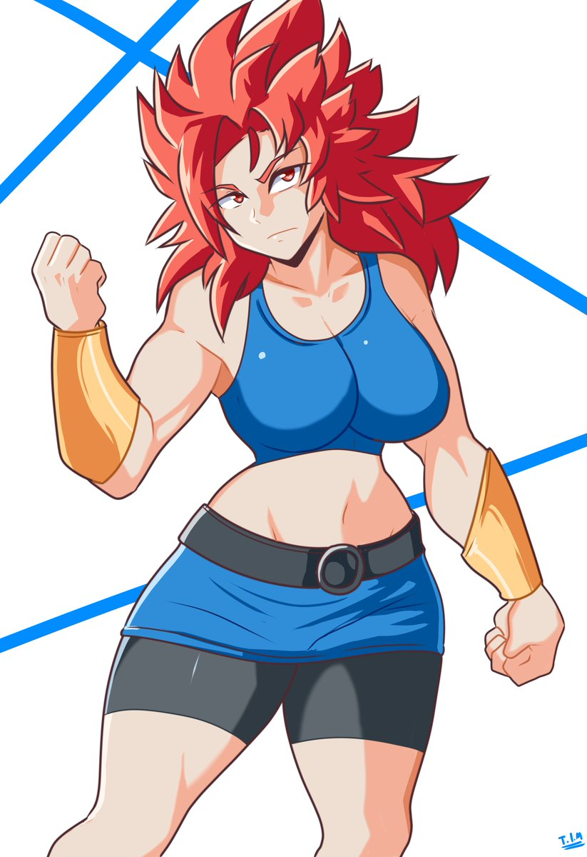 RT @Iron_mountain_t: Commission made for Anonymous of it's OC~  Lot's of dragon ball ones recently huh? xD https://t.co/waEfphEZ2f