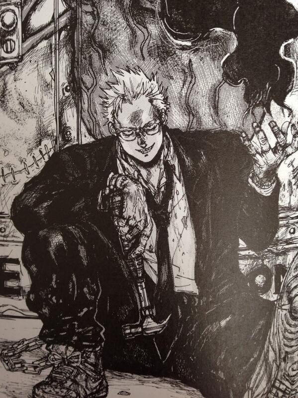 【ドロヘドロ】から「心」が滅茶苦茶好きです! かっこいいし義理堅さと優しをもった残酷な男で凄く好き。  https://t.co/nztNDxEiwK https://t.co/BFKYqoapWS
