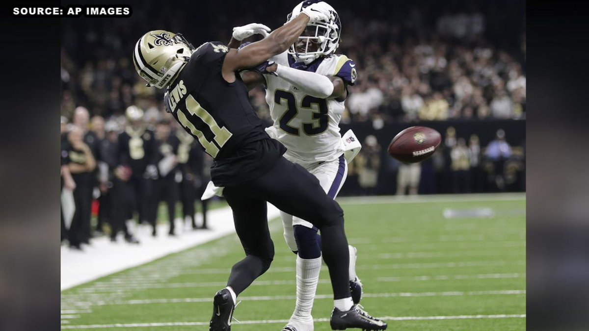 Louisiana eye doctor offering free eye exams to NFL referees after @Saints lost to the @RamsNFL in NFC Championship game https://t.co/torDdWVQIM