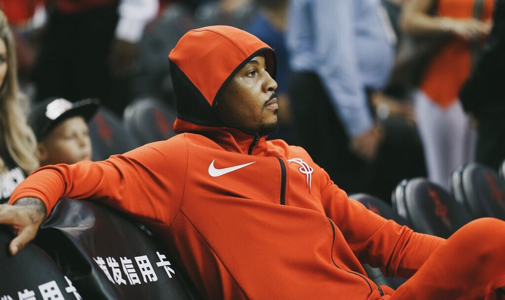 In 2014, the Bulls pitched Melo on forming a superteam with D-Rose and Joakim.  Today, they traded/released him for tax purposes.  Cold world.