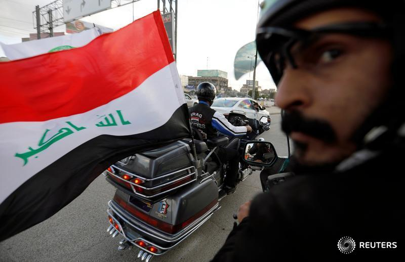 Roaring along Baghdad's highways, the 'Iraq Bikers' are doing more than showing off their love of motorcycles and black leather: they want their shared enthusiasm to help heal Iraq's deep sectarian rifts https://reut.rs/2RYvoSB  📷 Thaier Al-Sudani