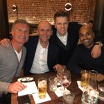 10 years into the @WhisperFilmsUK journey and great board meeting with   CEO of Brightsparktv @IanBlandford and fellow directors Sunil Patel and    @mrjakehumphrey