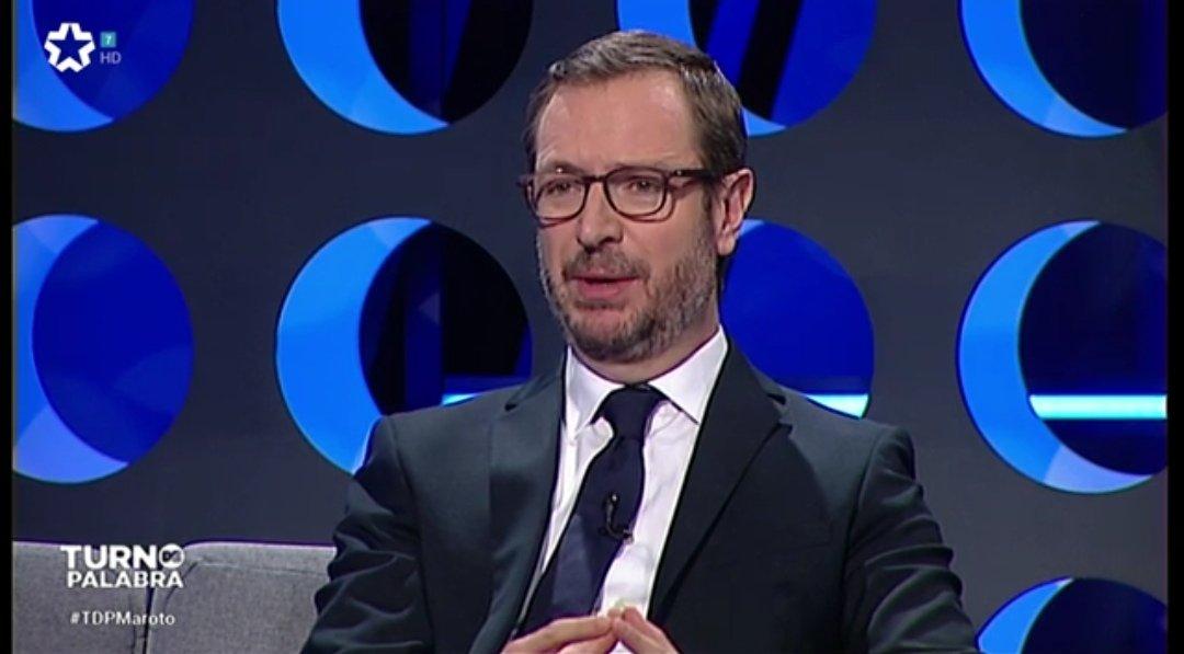 """📺 @JavierMaroto en @TurnoPalabraTM: """"El PP es un partido que mira hacia el futuro. La mayoría de los votantes de derechas quieren una España unida"""". #TDPalabra1"""