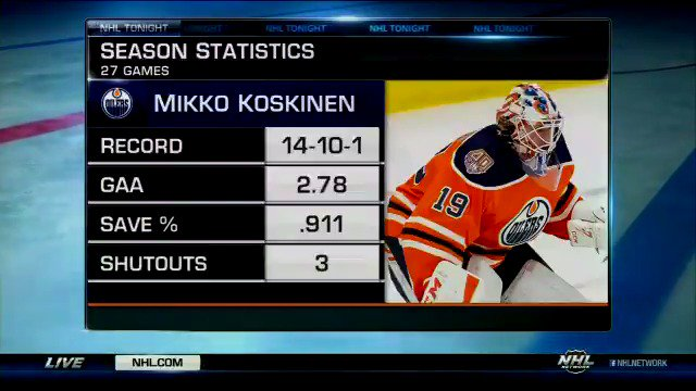 NHL Network's photo on #Oilers
