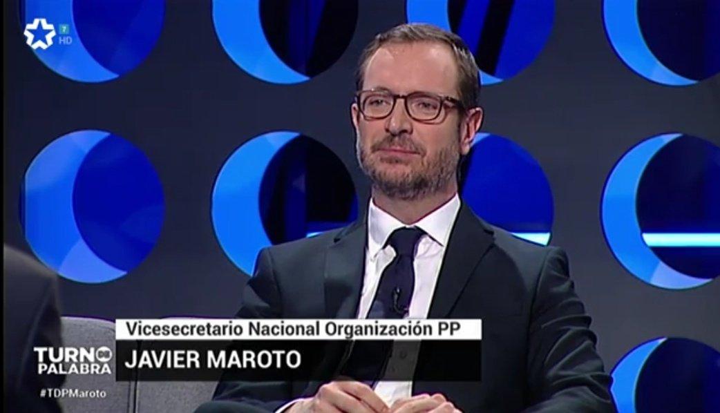 """📺 @JavierMaroto en @TurnoPalabraTM: """"Si no somos capaces de conseguir la unidad del centro derecha tendremos otro gobierno de izquierdas"""". #TDPalabra1"""