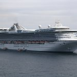 Image for the Tweet beginning: Person Missing From Golden Princess