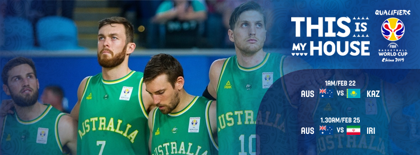 ONE MONTH TO GO | The 🇦🇺 Boomers will head to Kazakhstan and Iran on Feb 22 and 25 for the final window of the @FIBAWC qualifiers!   Having already booked a spot in the World Cup this August, the Boomers are now aiming to finish on top of Group F! *times AEDT.