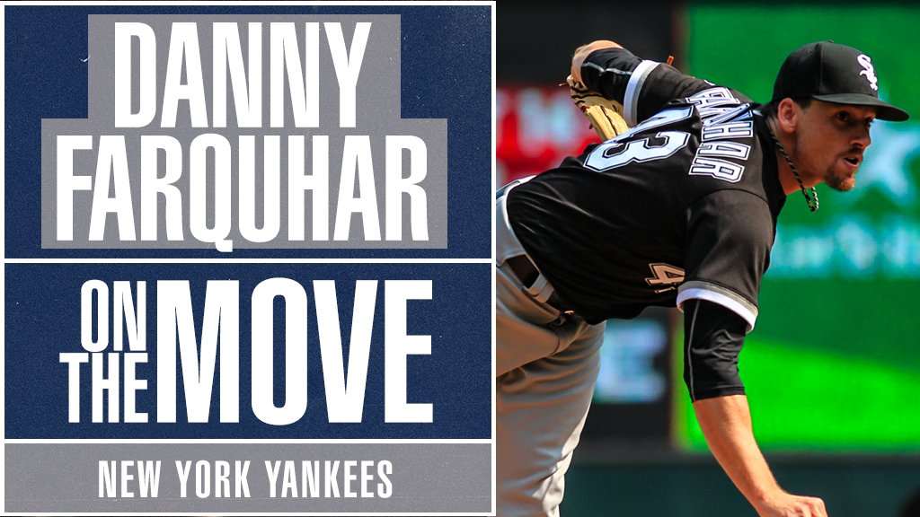 Danny Farquhar's return to the mound is near. He will sign a Minor League deal with the Yankees, 9 months after suffering a brain hemorrhage, per @JonHeyman: https://t.co/nnfU0s95Yt