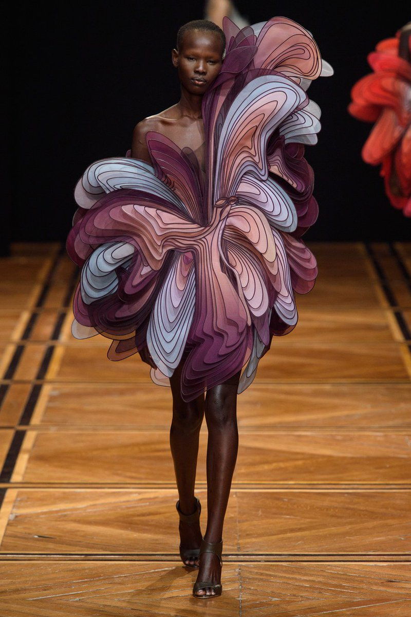 ART from the Iris van Herpen Spring 2019 Couture Collection