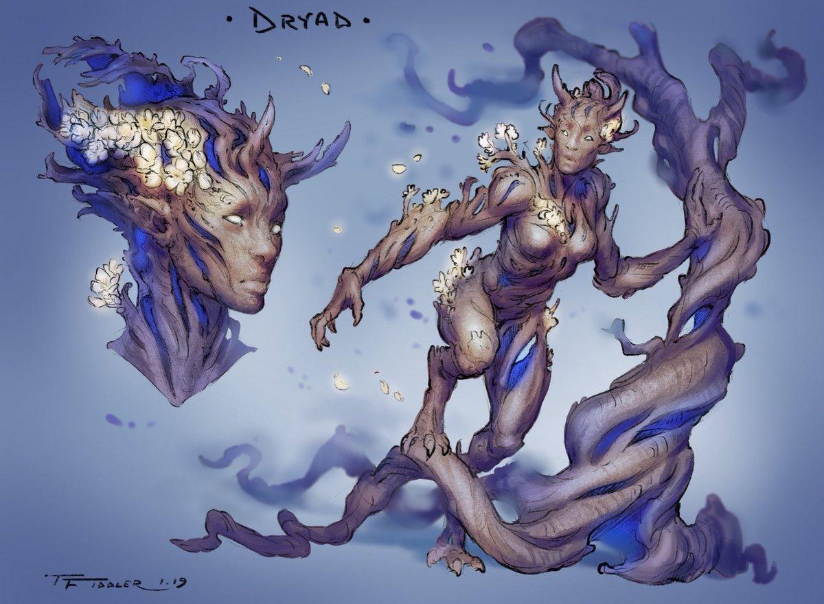 Dryad Concept Art