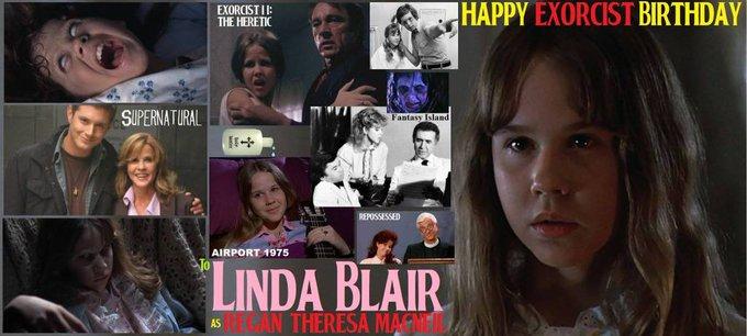 Happy birthday Linda Blair, born January 22,1959.