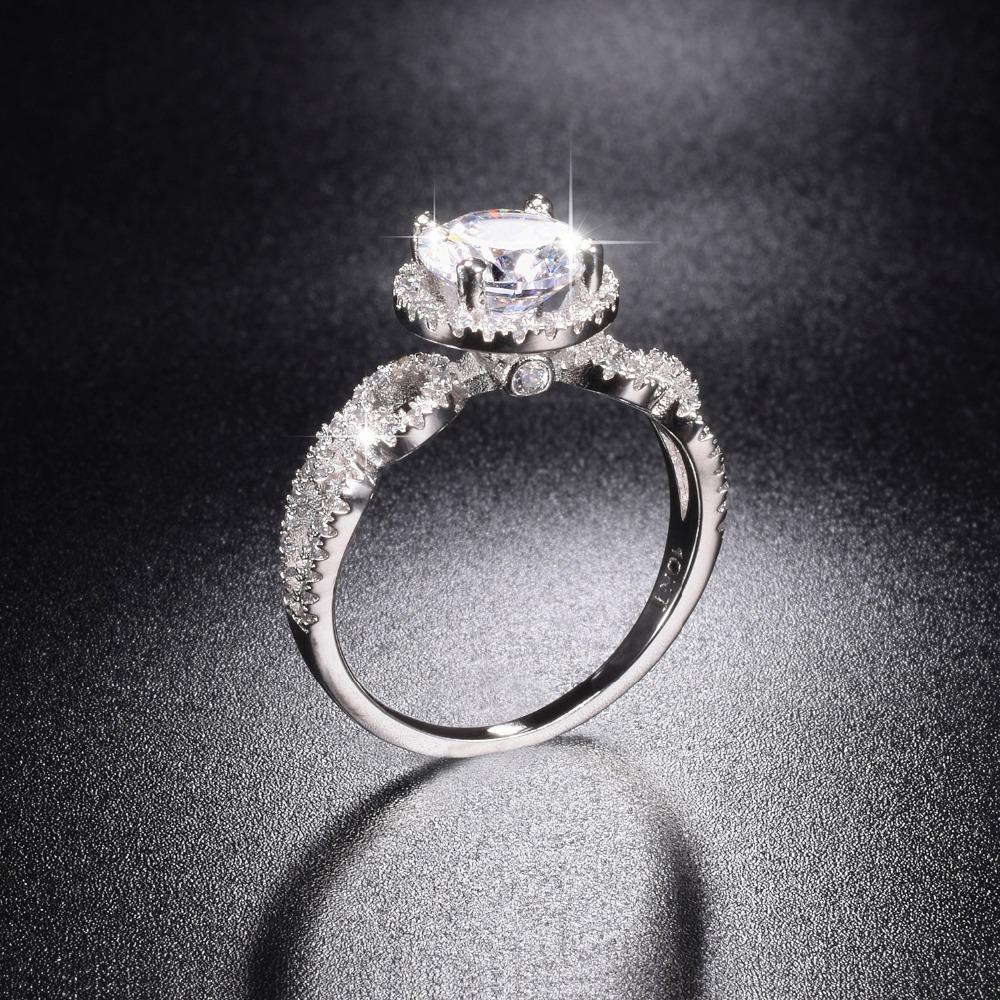 ... Rings Jewelry for Women Brand 2ct Simulated Diamond Engagement Ring. 32af303c0b5a