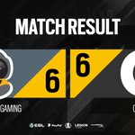 Image for the Tweet beginning: We have another tie! @SpacestationGG
