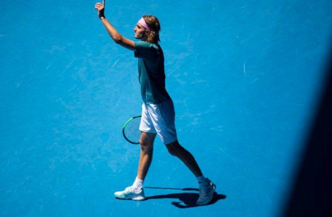 Fernando Murciego's photo on #AusOpen