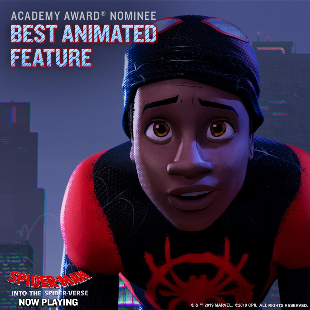 Spider-Man: Into The Spider-Verse's photo on Oscars