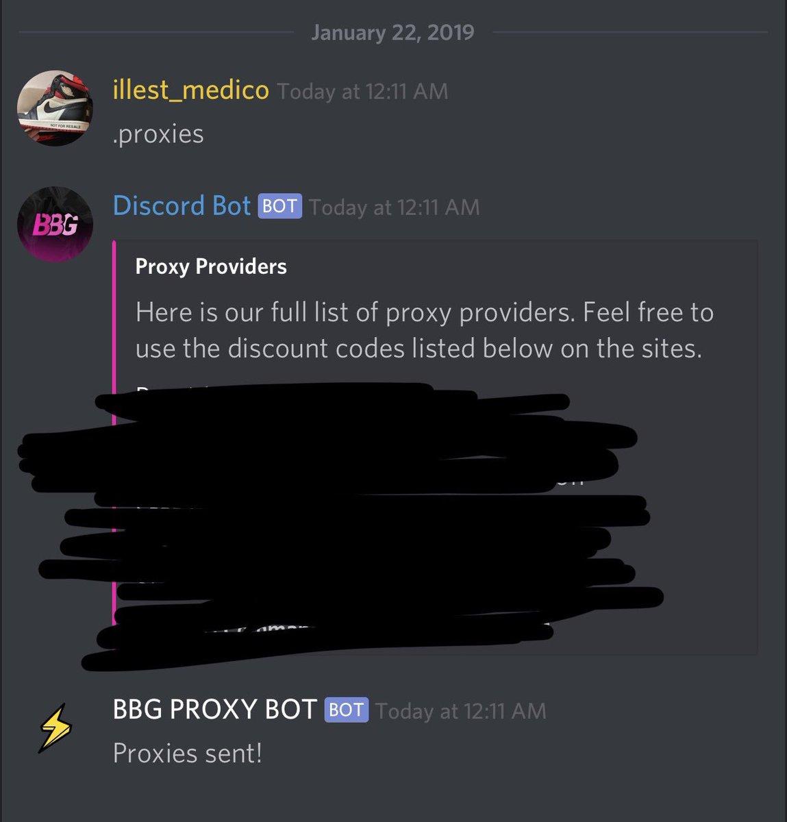 Proxy Providers Free