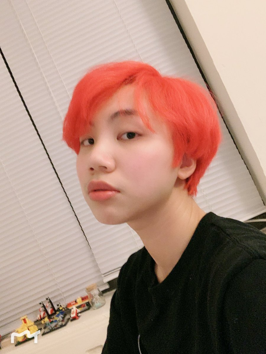 Armyseicaday I Dyed My Hair Red For The
