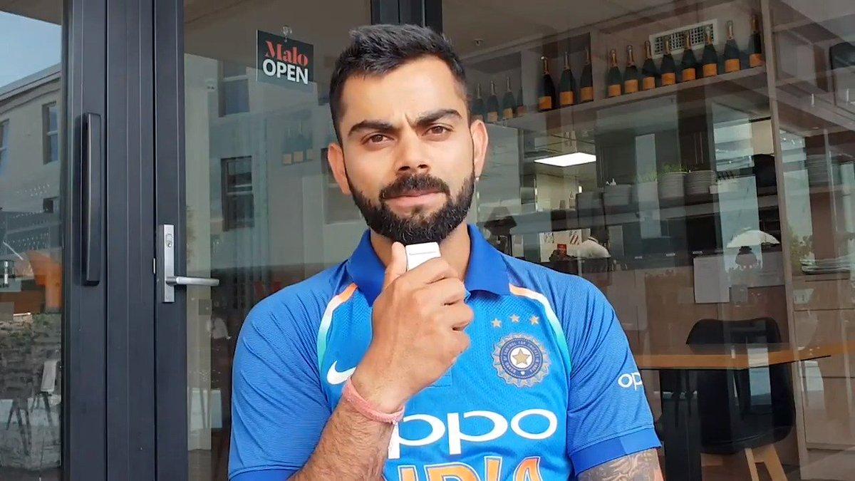 Virat Kohli's historic hat-trick at the ICC Awards got Twitter celebrating with memes! - Culture - Mashable India