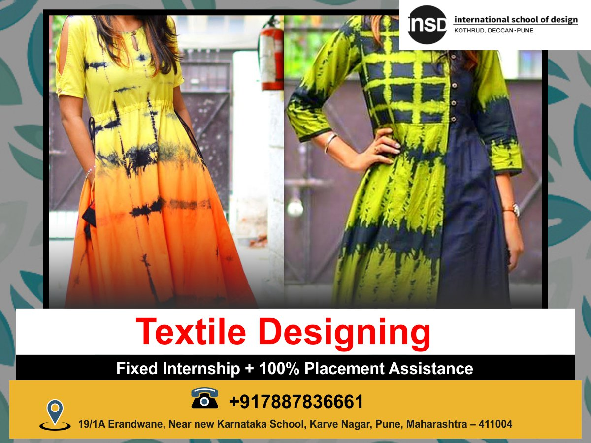 Insdpune Kothrud On Twitter One Of The Creative Field In The Fashion Industry Apply Now Https T Co Bwbl0wsofp Designacademy Institute Textiledesigncourse Designskill Course Digitaldesign Insd Insdkothrud Https T Co Faayga58bt