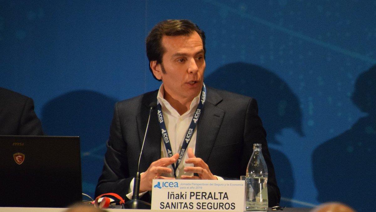 """Image for the Tweet beginning: #PerspectivasSeguros2019 Iñaki Peralta @sanitas: """"Para"""
