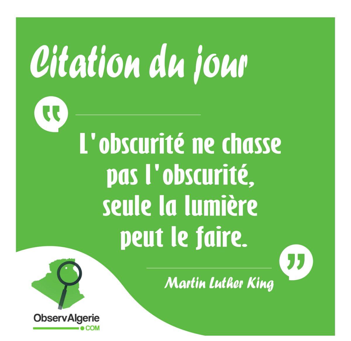 Observalgérie On Twitter Citation Du Jour Bonjour