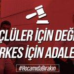 AlparslanHocaya Adalet Twitter Photo