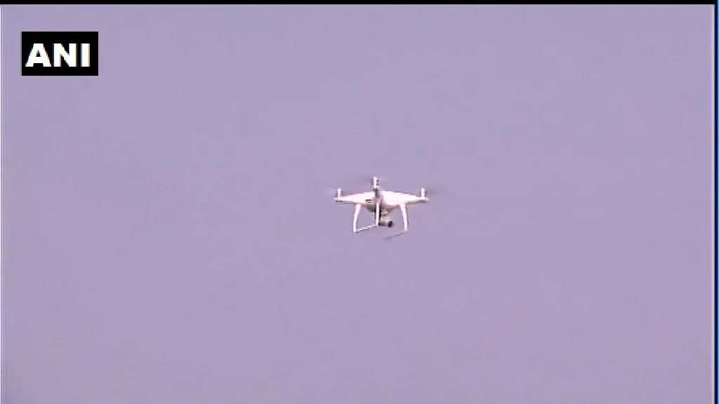 West Bengal: BJP President Amit Shah to attend a rally in Malda, drones are being used for security surveillance.