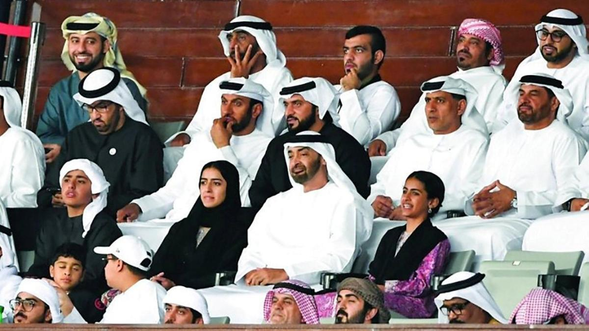 Sheikh Mohamed bin Zayed cheers UAE to victory in #AsianCup2019 https://t.co/hLl99wUCM8