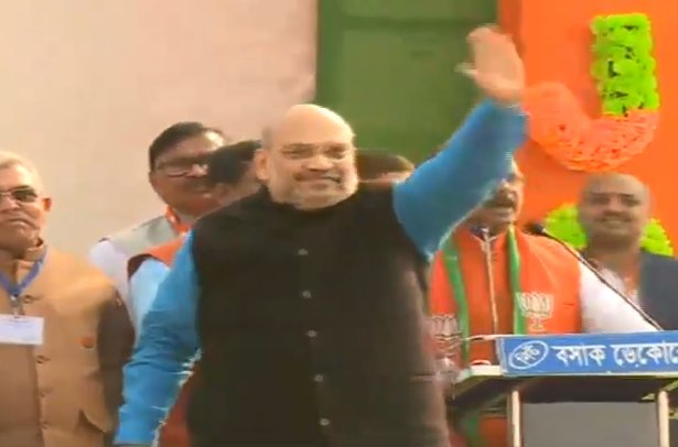 BJP National President Shri @AmitShah will shortly address a public meeting in Malda, West Bengal. Watch at https://t.co/RYutUexsCz #AmitShahInMalda