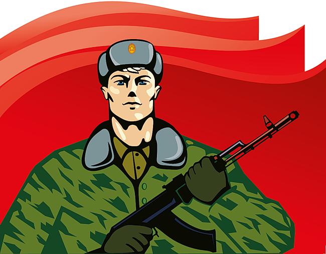 Открытка солдату картинка