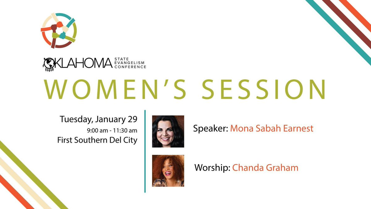 test Twitter Media - Join us next Tuesday at 9am for the Women's Session at the State Evangelism Conference! We will be in Worship Center at First Southern Del City. https://t.co/Y1DEsPZhh7