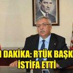 RTÜK Başkanı Twitter Photo