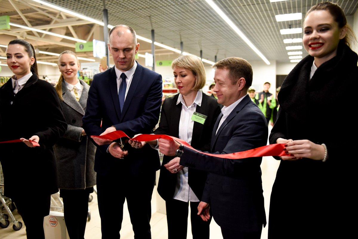 Друзья, 18 января свои двери открыл новый «Евроопт» в городе белорусских атомщиков - Островце! Магазин работает с 9.00 до 22.00, без обеда и выходных. Добро пожаловать за покупками!  #евроопт #открытиемагазина #аэс #островец #супермаркет https://t.co/q0q3r1koGA