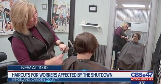 Local military wife giving free haircuts to Coast Guard families as shutdown continues  DETAILS: https://t.co/jsooHGLQoX