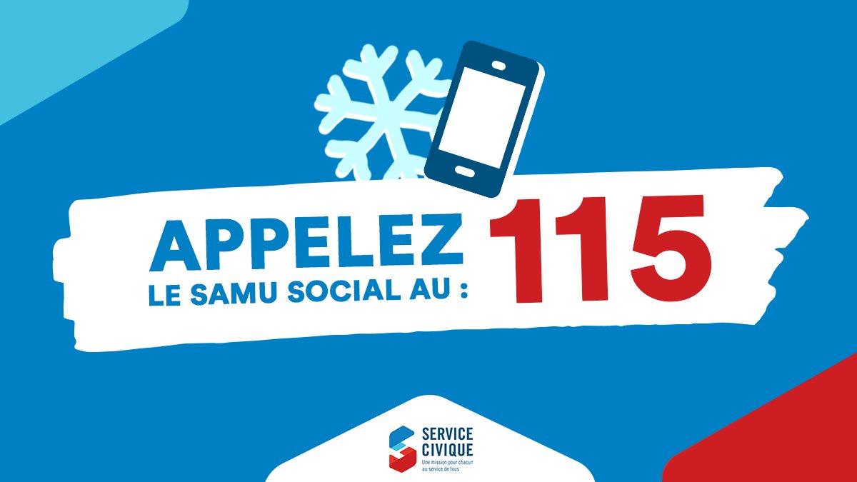 3 chiffres à retenir pour aider quelqu'un dans le besoin #115 #samusocial #lesgestesquisauvent #gestessimples #solidarité #lormont #rivedroite #gironde #nouvelleaquitaine #aider #engagement #toussolidaires twitter.com/ServiceCivique…