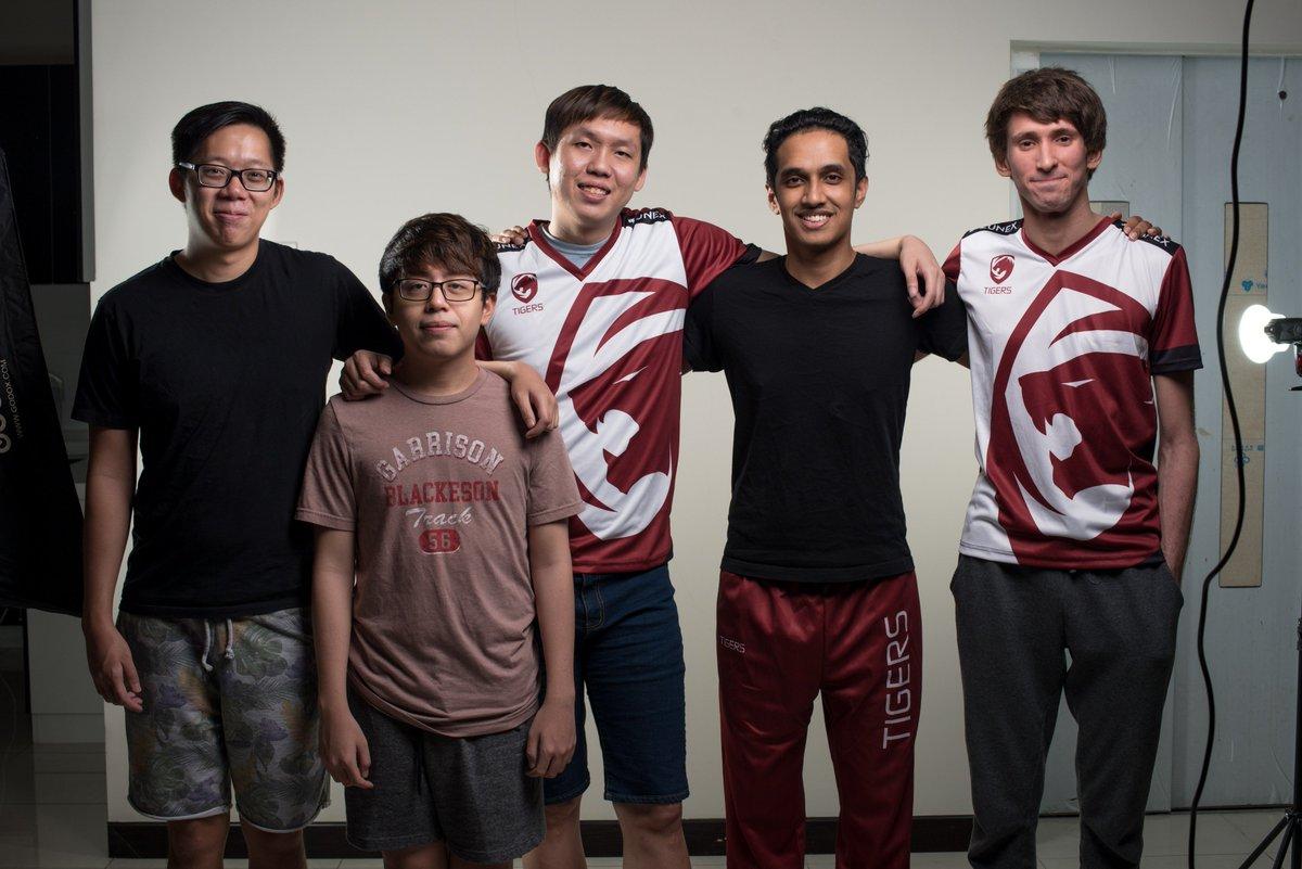 Dota 2: Dendi Bergabung dengan Tim Asia Tenggara Tigers!