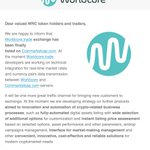Image for the Tweet beginning: Worldcore latest news: #worldcore #fintech