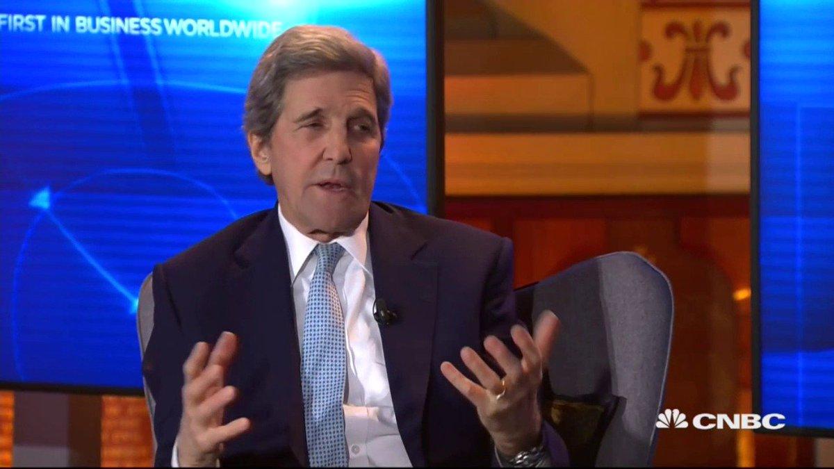 John Kerry Says Donald Trump Should Resign